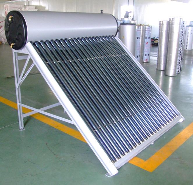 Evacuated Solar Water Heater Working Station Solar Tube