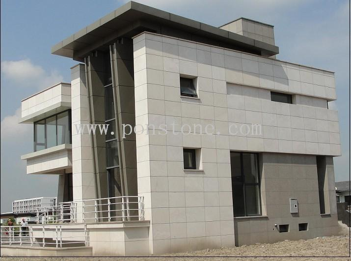 white sandstone tiles projects