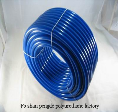Polyurethane smooth round belt