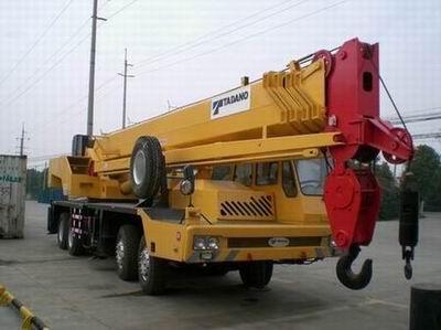 Used construction crane GT-550E +8618221102858