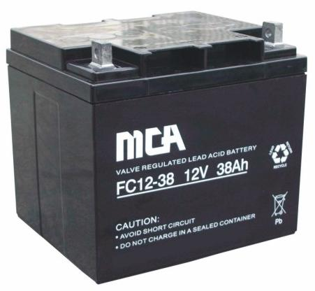 Sealed Lead Acid Battery on 12v  38ah Sealed Lead Acid Battery