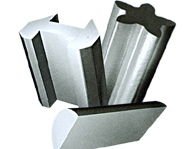 Stainless steel profiled steel