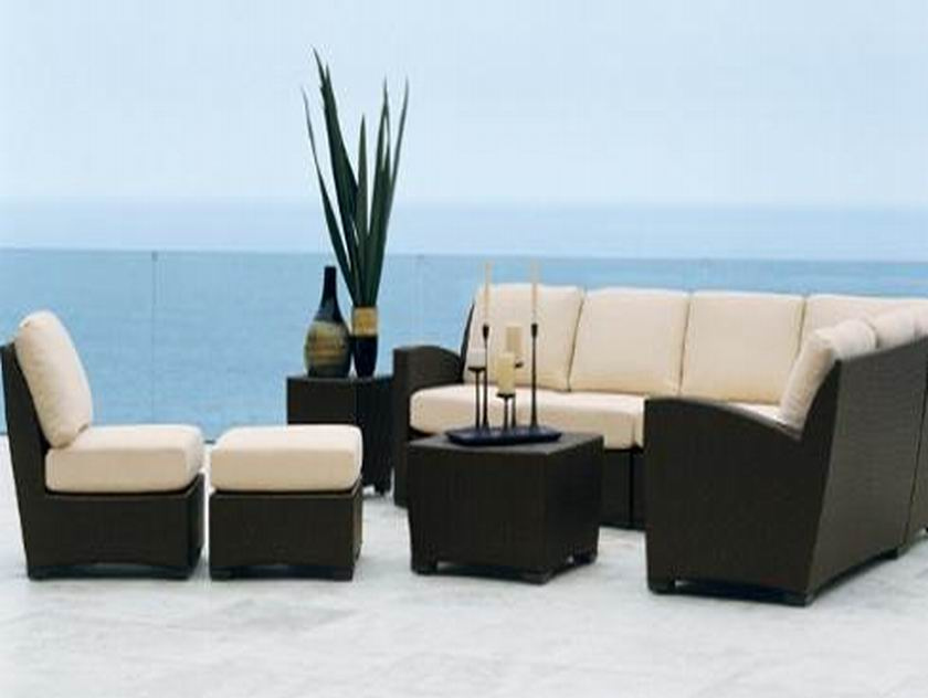rattan sofa set ESR-9059