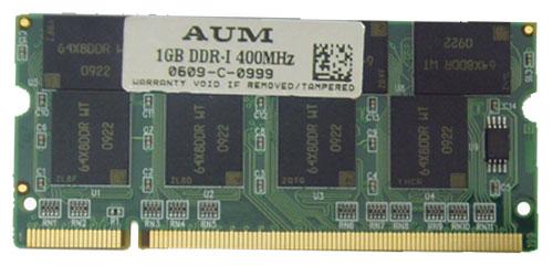 DDR1 1Gb 400Mhz PC 3200