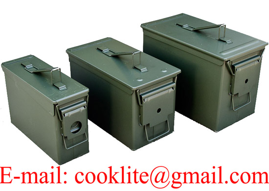 Metal ammo box Ammo can Military box