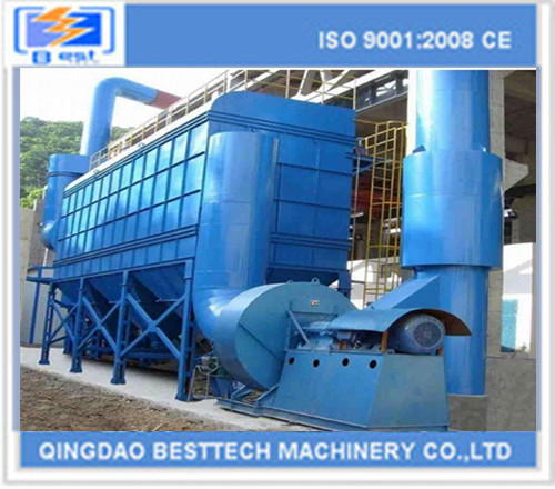 Industry high efficiency pulse baghouse dust collector