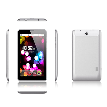 7-inch MID, MTK8312 Dual-core CPU, 1024*600, with 1GB/8GB