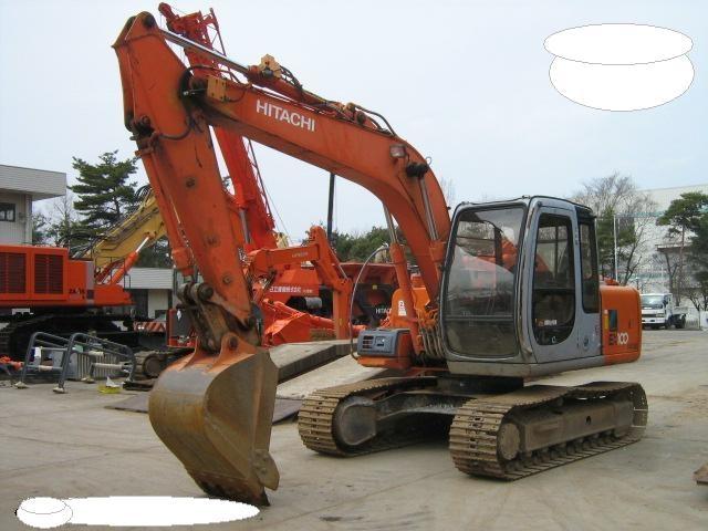 Hitachi excavator EX100