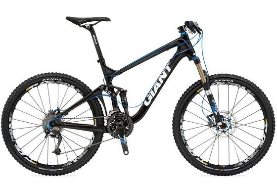 Giant Trance X Advanced SL 0 2010 Bike