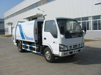Waste Refuse Collection Trucks, Cleaning Street washer