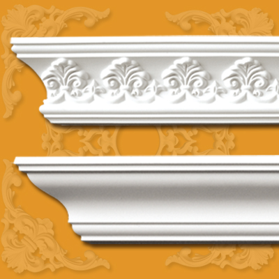 ... cornices for interior decorations, many designs and sizes available
