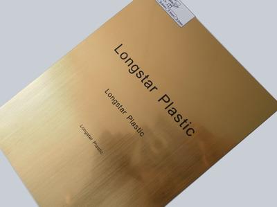 Laser/Rotary engravable plastic
