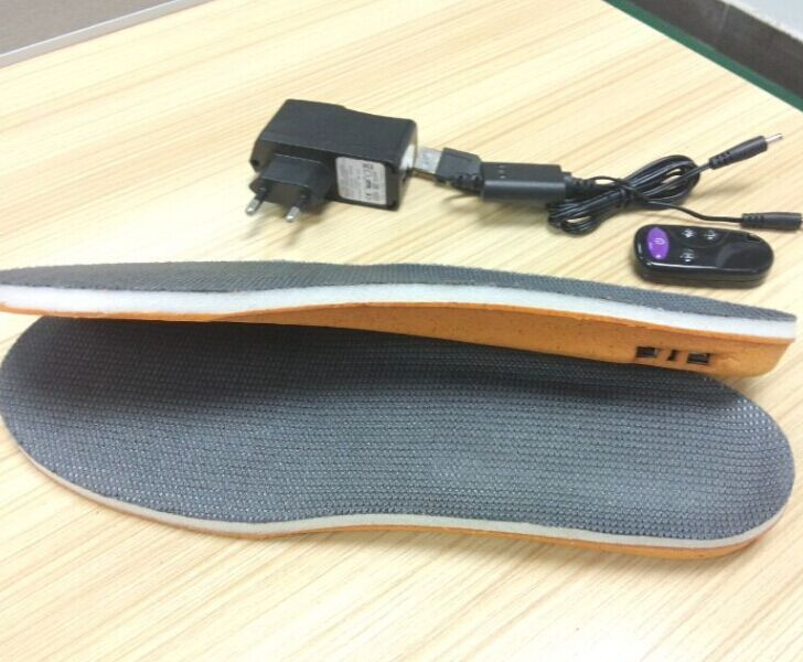 rechargeable battery heating insoles