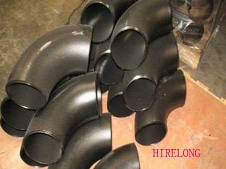 Carbon steel pipe fittings--90 degree elbows