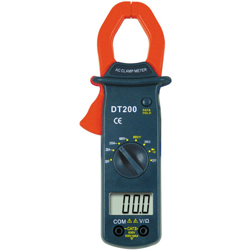 Dc Clamp Harbor Freight : Digital clamp meter dt whdz multimeter