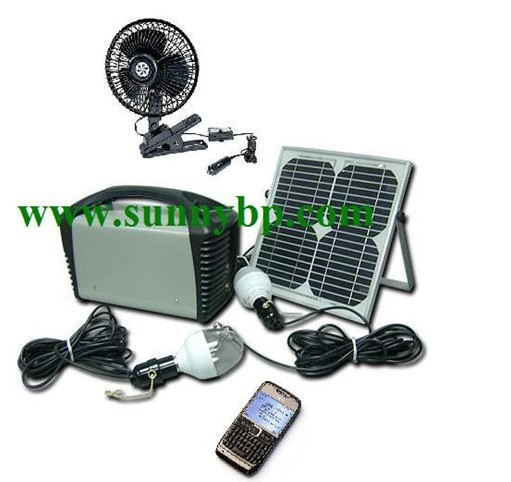 12v /10w Portable Solar Energy System for Home