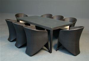rattan sofa set-ESR-9088