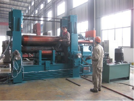 W11-S 85*1800mm metal plate bending machines of three roller
