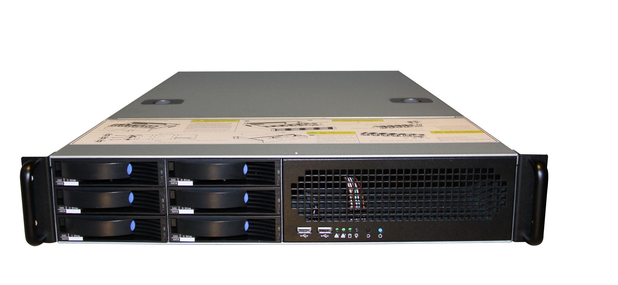 2U rack mount server case