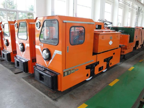 Explosion-proof Special-type Electric Locomotive