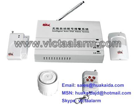 Auto-dial Wireless Burglar Alarm System