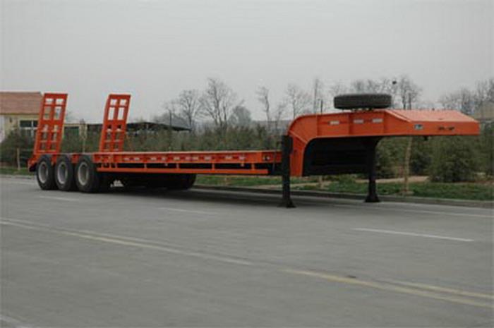 low bed semitrailer
