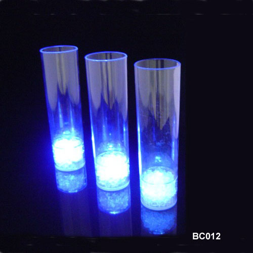 LED flashing Juice Glass Cup