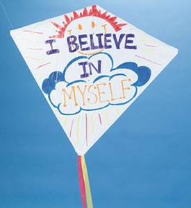 non-woven graffiti kite