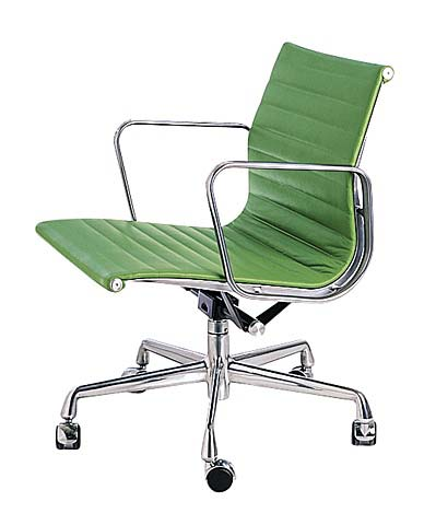 Aluminum office chair by charles amp ray eame aluminum office chair