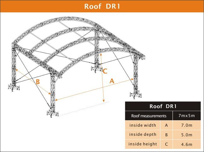 truss system,stand truss