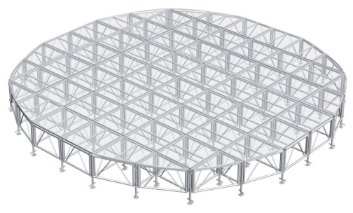 Glass stage,assembly stage,aluminum stage system