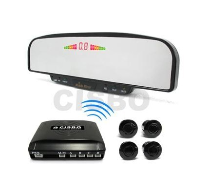 wireless Parking Sensor with rear view mirror