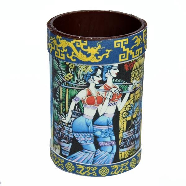 pencil vase, bamboo crafts,pencil holder,handicrafts
