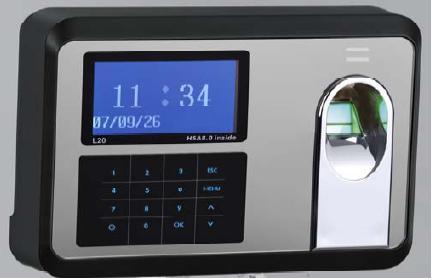 fingerprint recognition terminal BioTime5