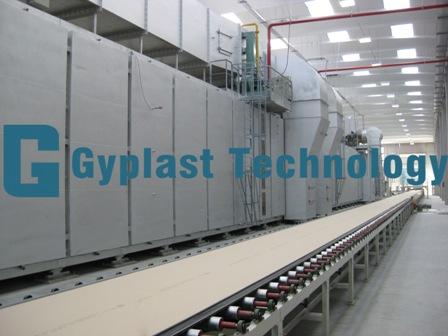 Gypsum wallboard plant