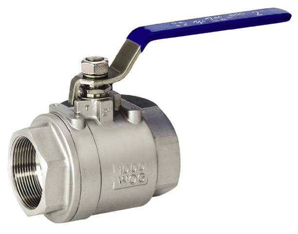 Pc stainless steel ball valve