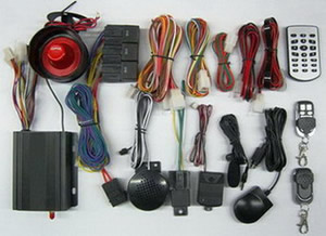 GSM GPS car alarm