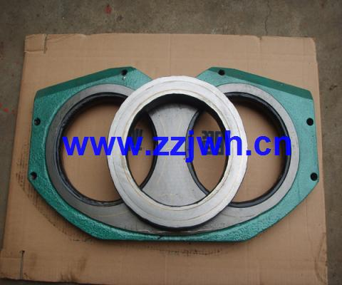 wear plate for concrete pumps