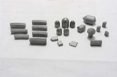 Carbide button for drilling tools