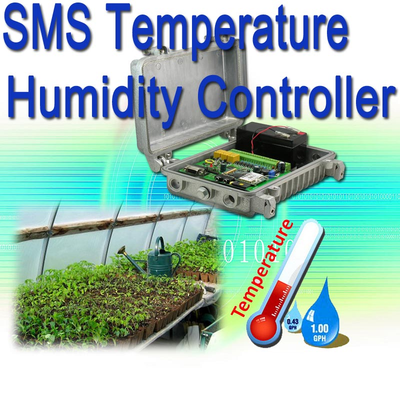 Temperature Humidity SMS Alert Controller
