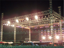 truss, light truss, stage truss, display truss