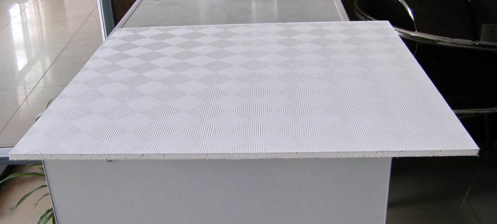 Pvc Ceiling Tiles : Gypsum pvc laminated ceiling tiles buy gypsumbuy