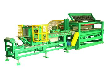 Automatic stripe cutting and blank cutting system