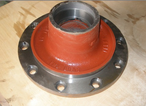 heavy truck auto parts brake drum and wheel hub for YORK