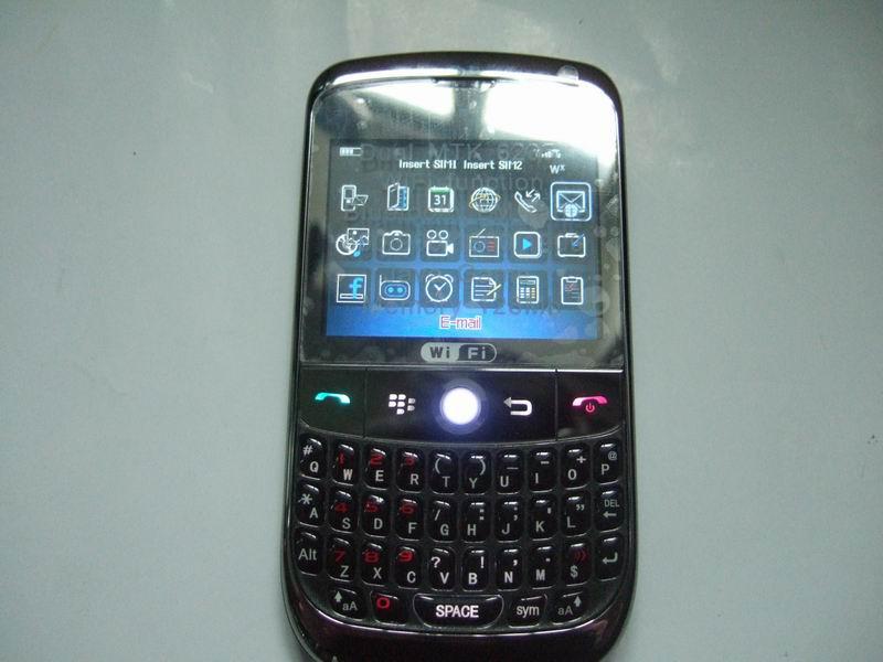 WIFI mobile phone W8520 with trackball JAVA ,MSN
