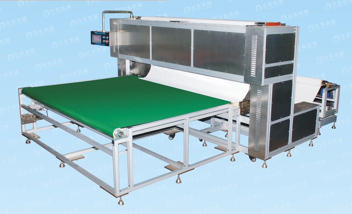 Full auto-ultrasonic textile cutting machine