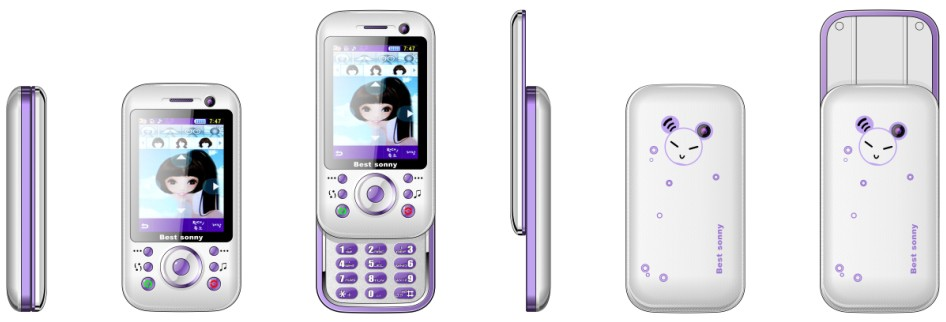 Slide Mobile Phone on sale