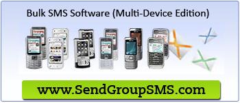 Bulk SMS Software (Multi-Device Edition)