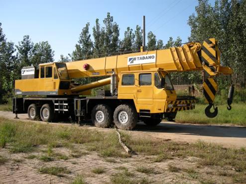 Used TADANO 55T 65T 80T 120T cranes