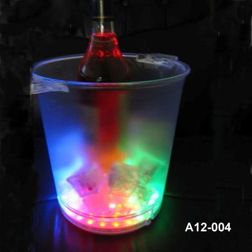 LED flashing ice-bucket